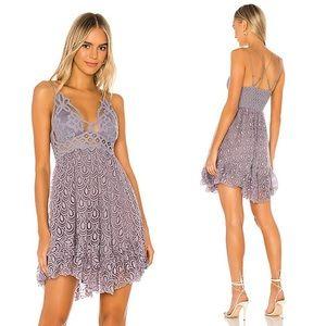 💕Free People Intimately Adella Burnout Slip Dress